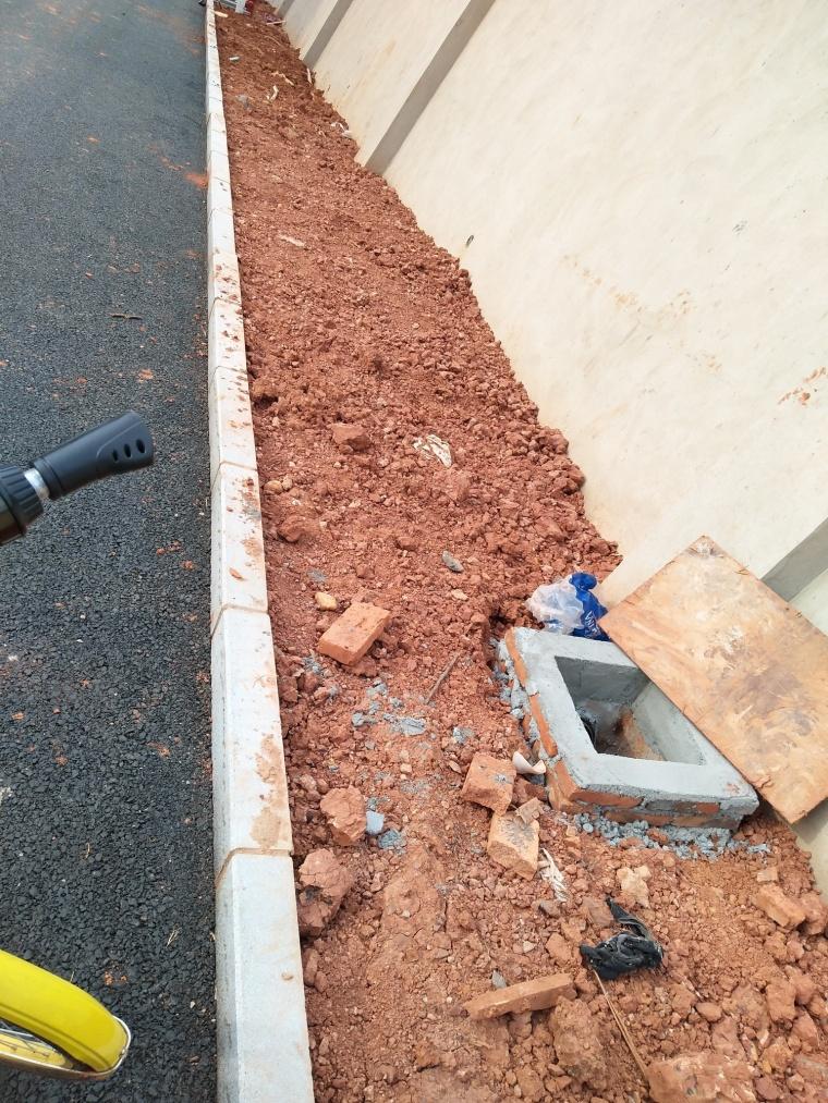 道路排水至绿化的雨水井,怎么办