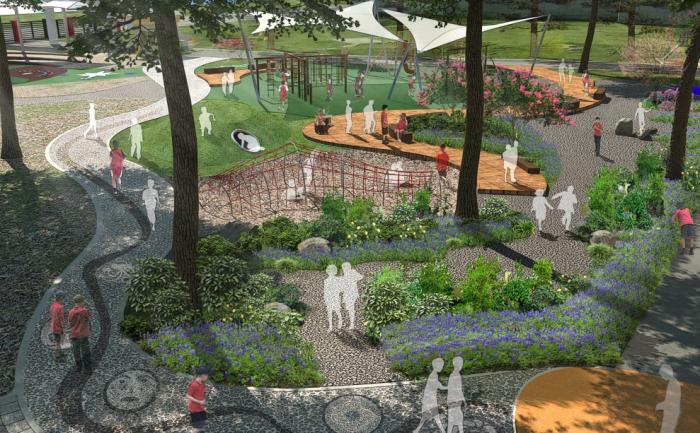 [北京]英国国际综合校园景观规划设计方案