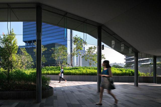 10-新加坡Comtech商业园区景观设计第10张图片