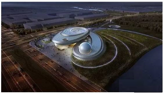 BIM技术打造唯美上海天文馆