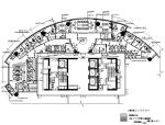 全套办公室室内设计CAD施工图(含效果图)