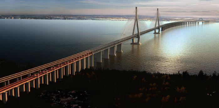 沪通大桥设计方案,看看大院是怎么设计的?
