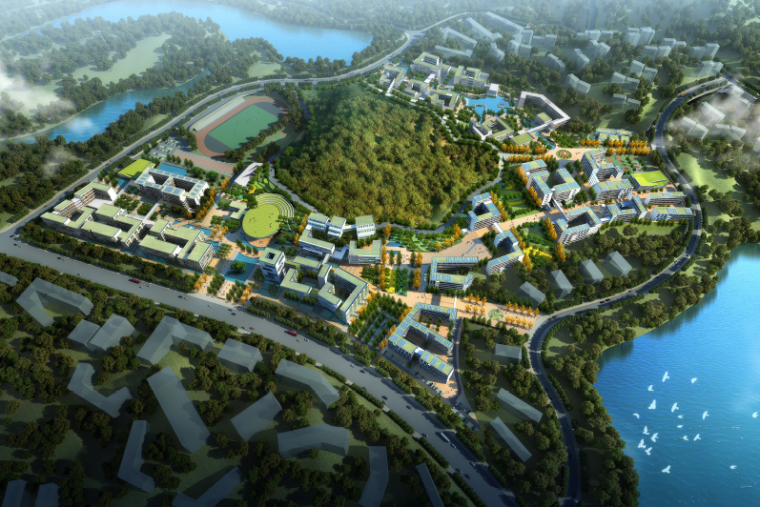 [广东]交通运输职业学校第二标段建筑设计方案文本