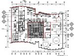 大涌华润城新展示中心室内设计施工图(附效果图+软装方案)