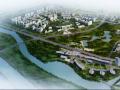 [江苏]现代风格旅游商务中心及生态公园规划(SU+文本)