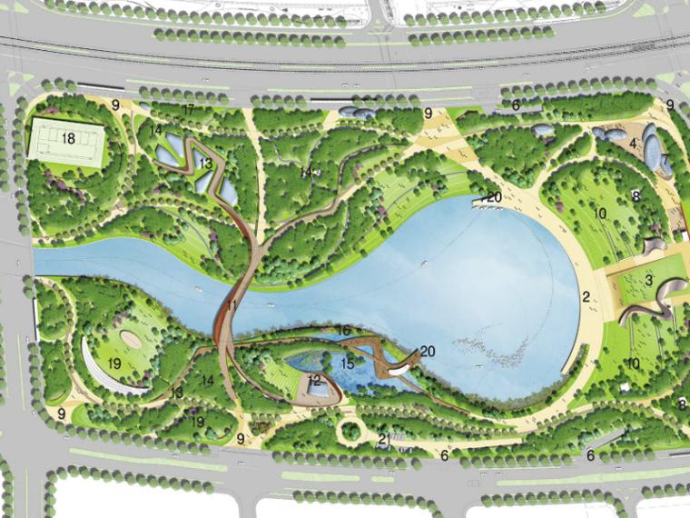 [江苏]南京生态公园景观设计(湿地森林)
