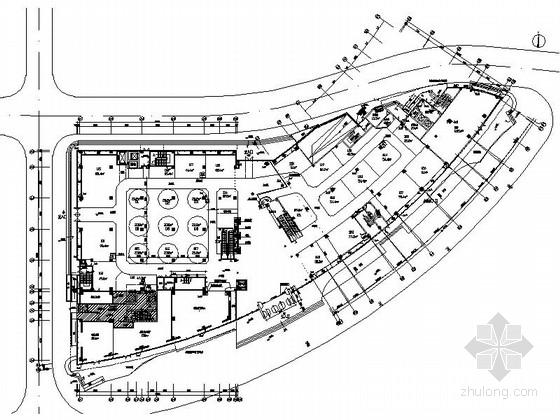 [昆山]繁华商业区现代百货商场室内CAD装修图(含效果)