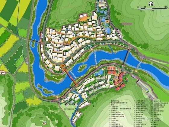 """[杭州]""""田园山水""""精品乡村总体规划设计方案"""