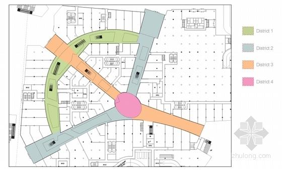 [江苏]现代风格商业综合体设计方案文本(原版国外知名事务所)-现代风格商业综合体设计平面图