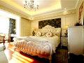 150平欧式简约风格三居室装修效果图