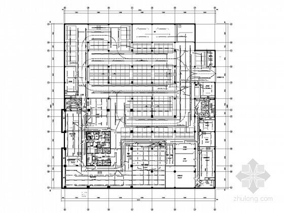 大型广场城市综合体及五星酒店全套电气施工图纸123张
