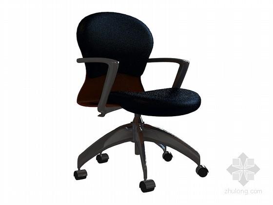 高级办公椅子3D模型下载