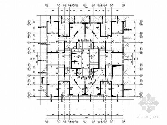 [四川]三栋18层剪力墙结构A户型住宅楼结构施工图(仅地上结构)