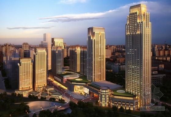 [四川]商业核心区artdeco风格城市综合体建筑设计方案文本(花园MAll)