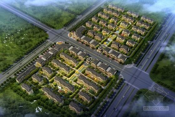 [山西]法式风格高端洋房别墅住宅区设计方案文本