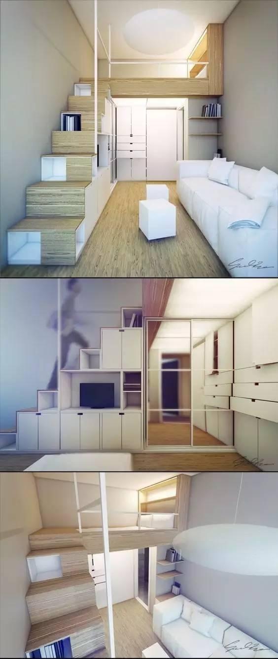 学建筑的你怎么能甘心自己的卧室和别人一样!!!_4