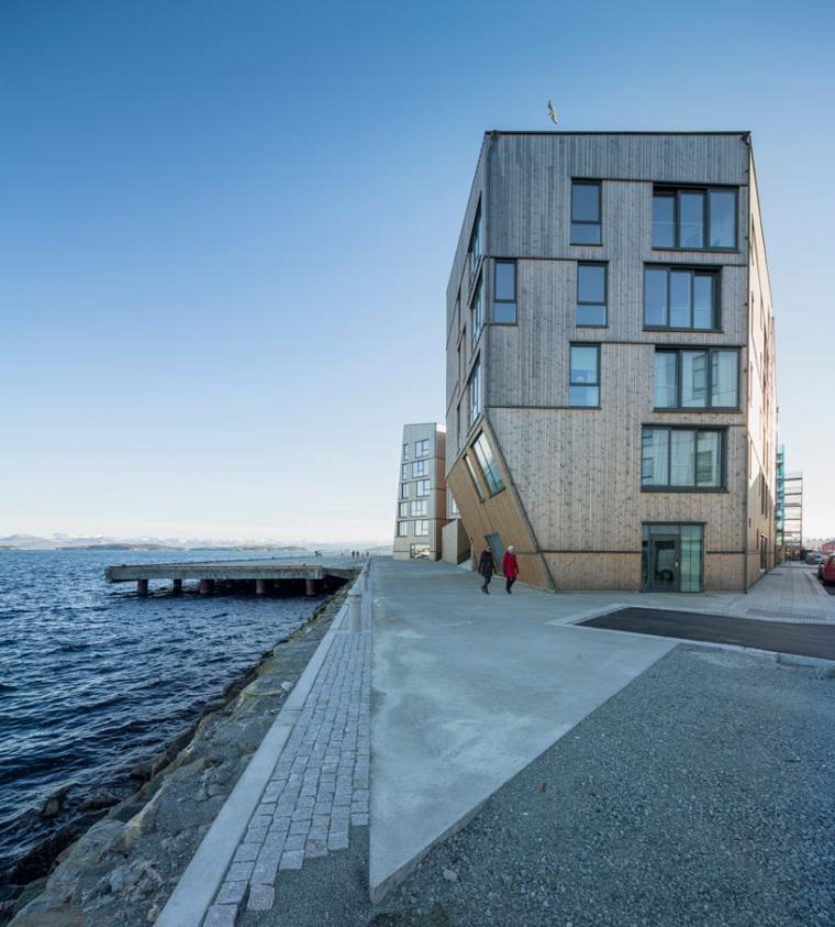 挪威滨海木质住宅_3