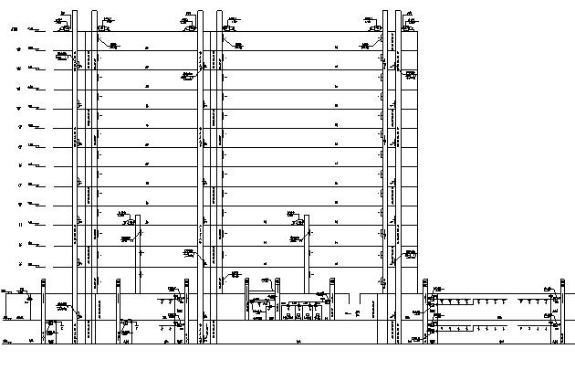 商业综合体暖通施工图纸(空调、通风、防排烟、bas)_1