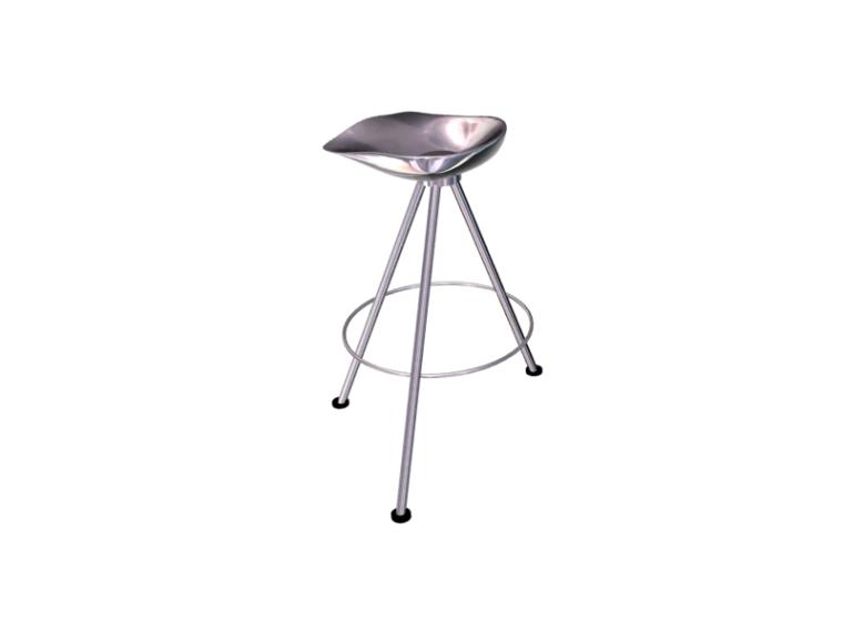 金属吧椅3D模型下载