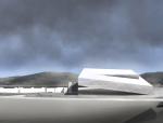[深圳]高层折起虚空体量美术馆设计方案文本(含多媒体及CAD)