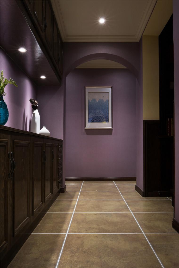 美式乡村和摩登混搭仲夏之夜住宅室内实景图 (20)