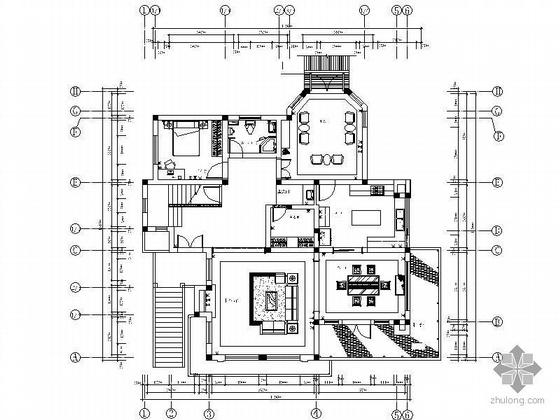 一套欧式别墅装修图(含效果图)