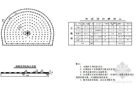 V级围岩钻爆资料下载-[福建]铁路隧道钻爆设计与施工方案附CAD图纸