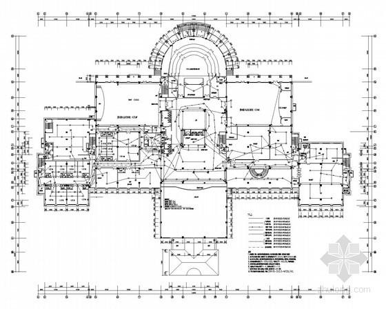 餐厅电气消防资料下载-九层五星级酒店电气系统施工图纸(含消防自动报警设计)