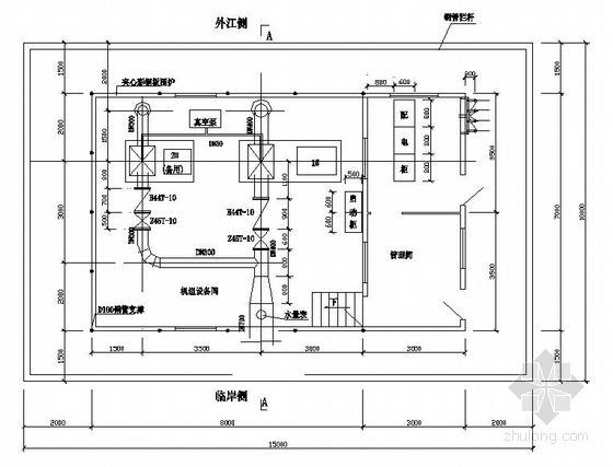 某浮动取水泵站全套施工图