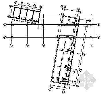 某二层钢结构别墅施工图纸