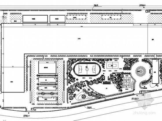 [成都]某科技园绿化工程施工图