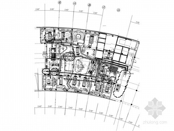 [黃石]某酒店總統套房VRV系統設計圖紙