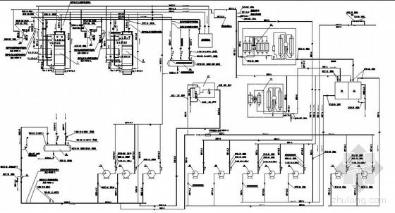 某燃煤锅炉房施工图(工艺部分)