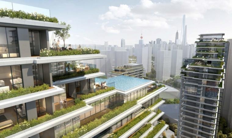 上海中信泰富集团大楼居民区的改造-1 (6)
