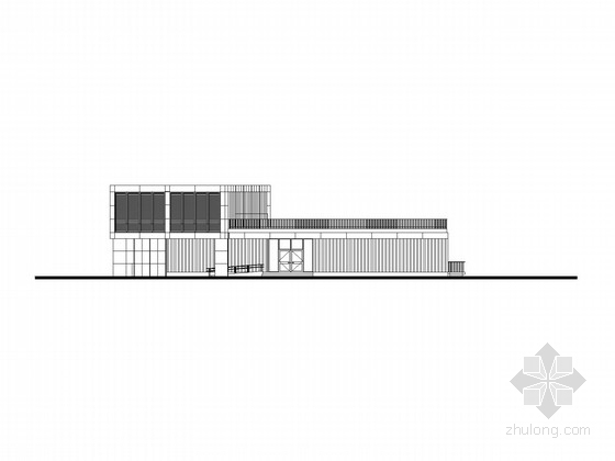 [上海]4层科技园建筑施工图(知名公司设计)