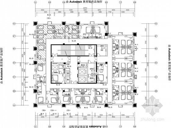 [天津]快捷酒店采暖设计施工图