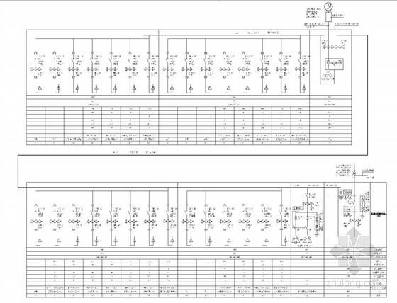 [重庆]知名行政办公楼全套电气施工图(变配电室+柴发机组)甲级设计院