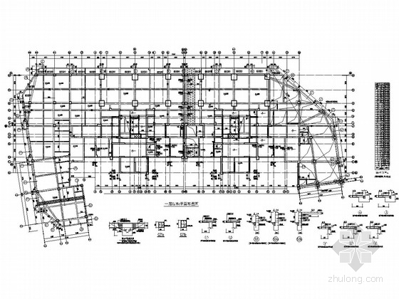 [四川]32层部分框支抗震墙结构商住楼结构施工图(地上部分 含转换层)