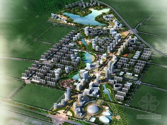 [湖南]新兴高新技术滨河产业园景观设计方案