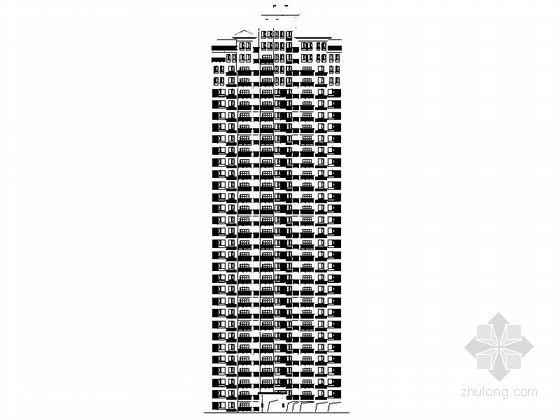[四川]高层地中海风格住宅区规划设计施工图(含结施 效果图)