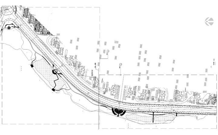 [武汉]高档居住区附属滨湖公园景观工程施工图
