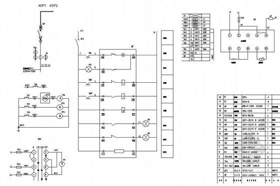 某化工厂全套电气设计图