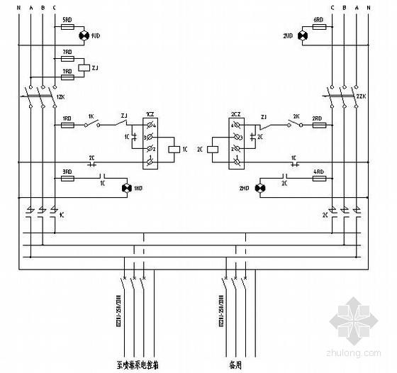 某20层办公住宅综合楼电气设计图