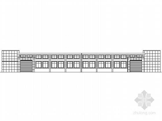 [景德镇]中小企业孵化基地某单层厂房建筑施工图