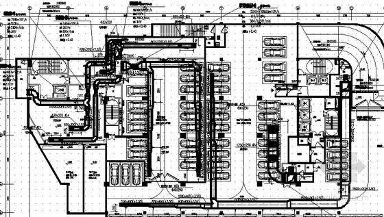 [安徽]商业办公楼中央空调系统设计施工图