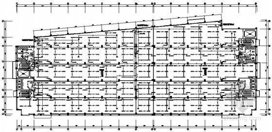 八层丙类厂房电气施工图纸