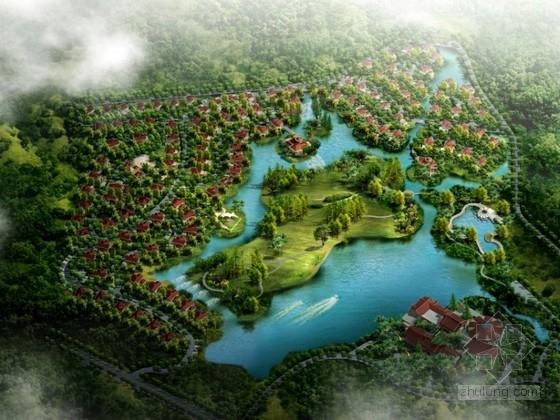 [泉州]某欧式风格别墅区规划及单体设计方案文本