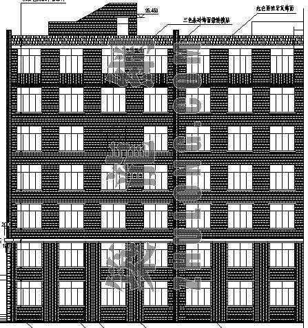 某大学生宿舍楼建筑设计方案