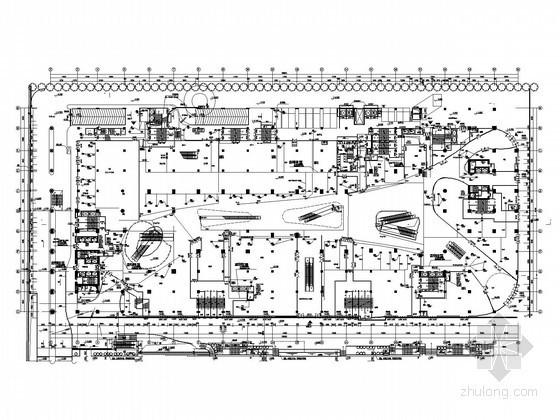 [广东]知名广场动力系统施工图纸