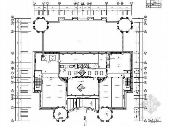 [天津]某地产综合楼儿童活动中心装修图